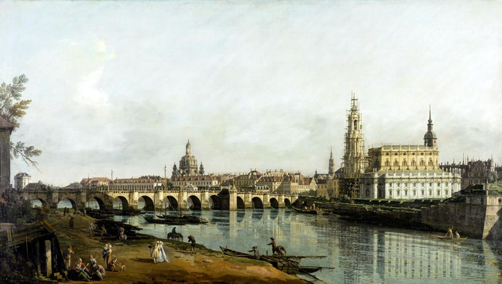 Historical view of Dresden