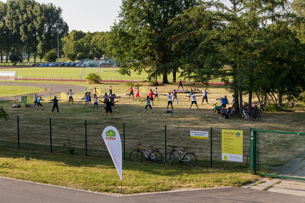 """Fit im Park""-Areal im Sportpark Ostra"