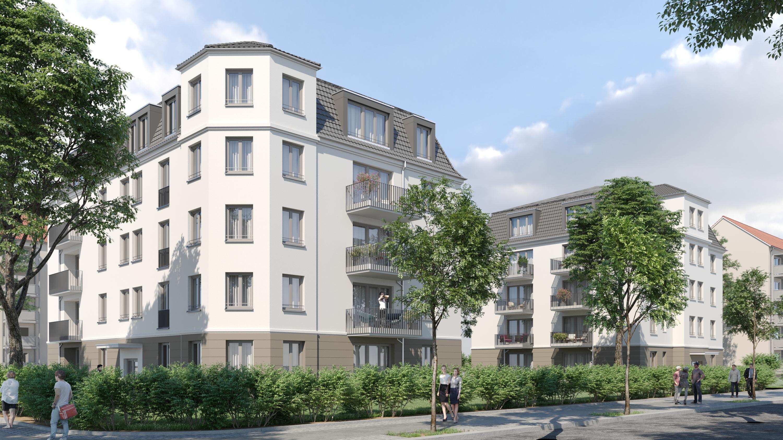 83b22724292f7 Kommunaler Wohnungsbau  Baustellen der WiD liegen im Plan