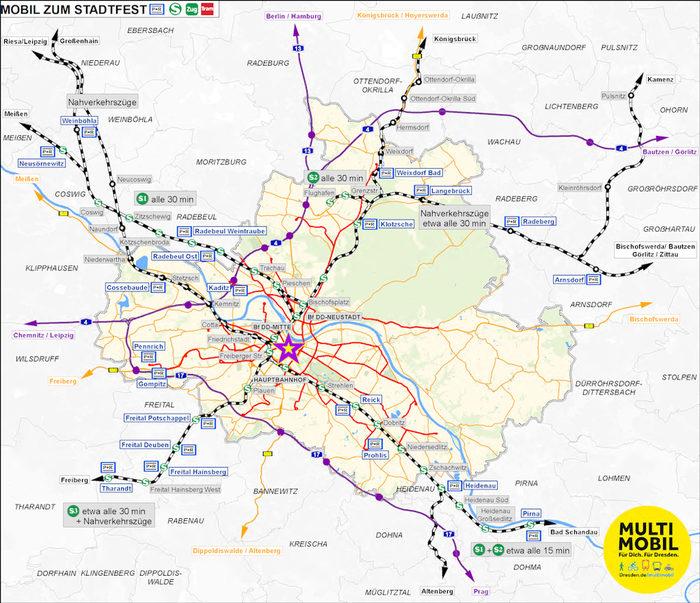 Prag Karte Offentliche Verkehrsmittel.Verkehrsinformationen Zum Stadtfest 2019