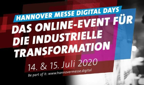Hannover Messe Digital Days 14. & 15. Juli 2020