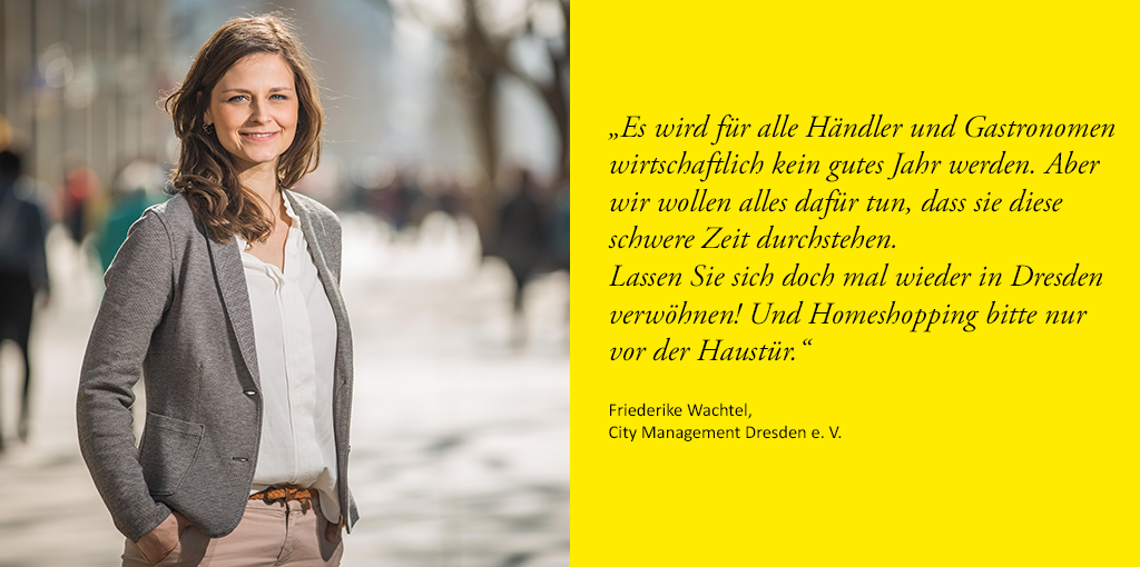 Friederike Wachtel, City Management Dresden e. V.